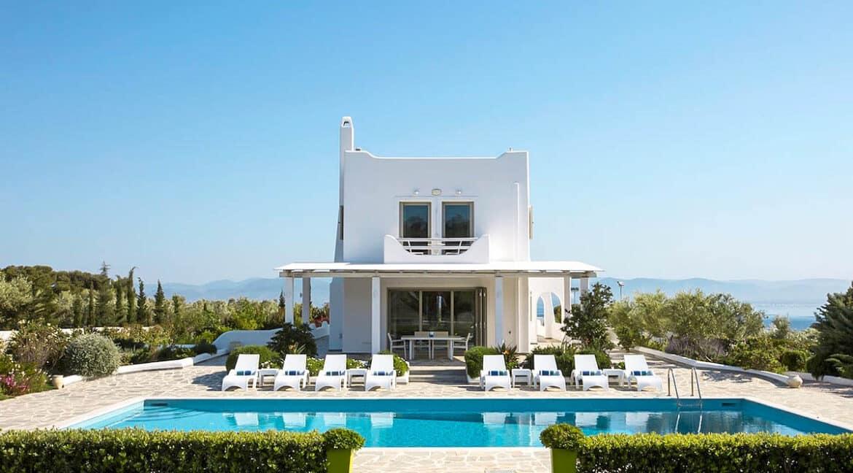 Seafront Luxury Villa Loutraki Attica Athens for sale