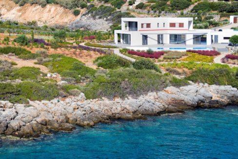 Seafront Luxury Villa in Crete, Agios Nikolaos 1