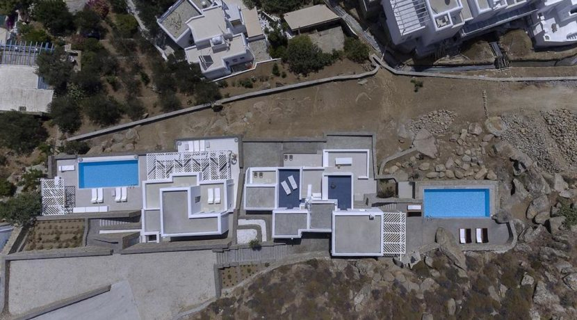 2 Villas at Tourlos Mykonos for sale 21