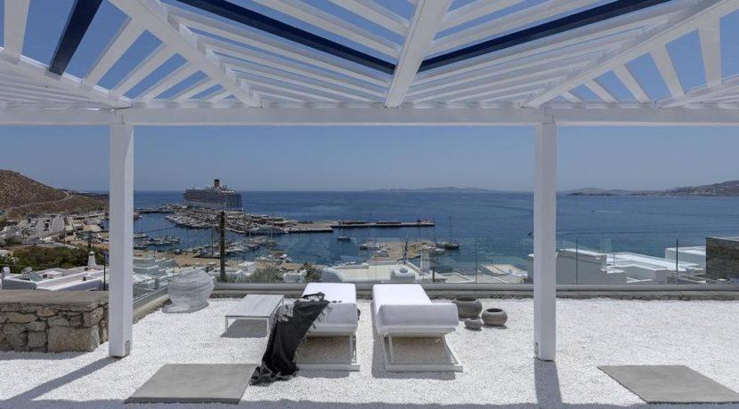 2 Villas at Tourlos Mykonos for sale 37