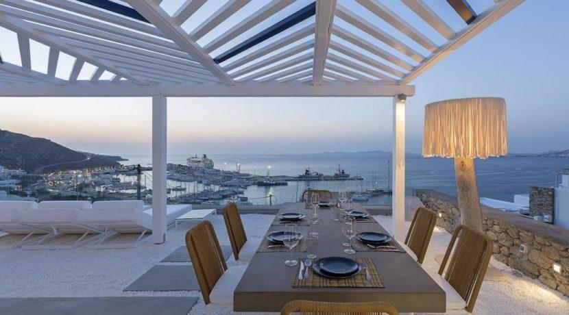 2 Villas at Tourlos Mykonos for sale 39
