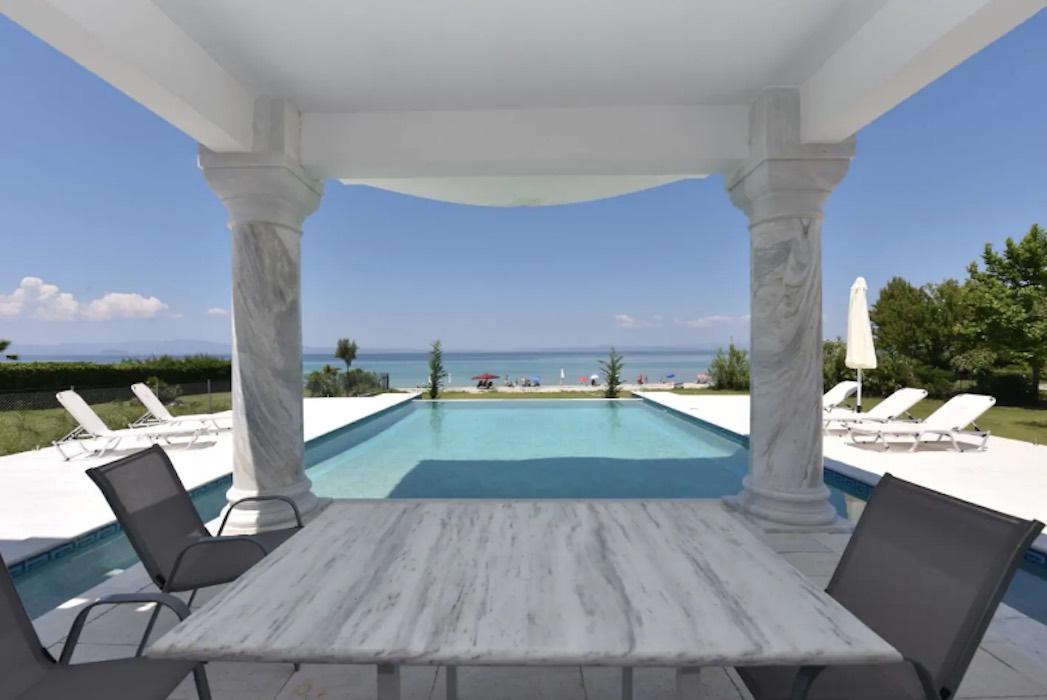 Beachfront Villa at Polychrono, Halkidiki