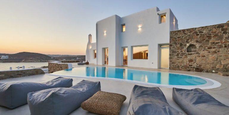 Luxury Seaview, Beachfront Villa Mykonos 1