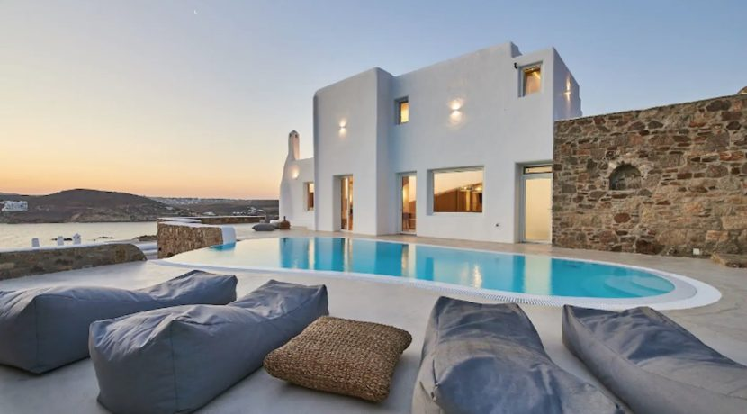 Luxury Sea view, Beachfront Villa Mykonos, Real Estate Greece, Home for sale in Greece, Property in Greece