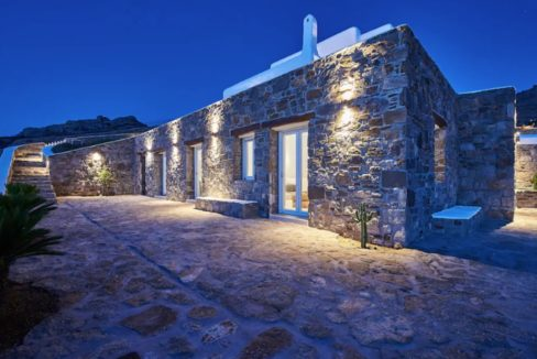 Luxury Seaview, Beachfront Villa Mykonos 43