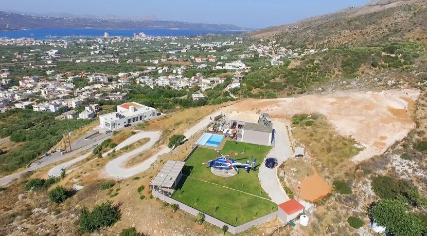 Luxury Villa with helipad at Chania Crete 1