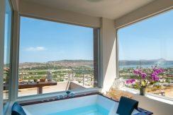 Luxury Villa with helipad at Chania Crete 10