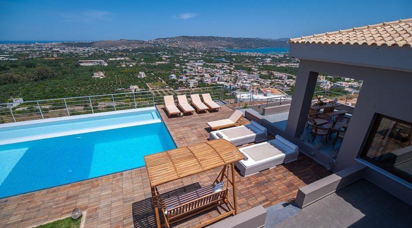 Luxury Villa with helipad at Chania Crete 11