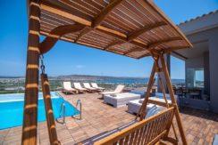 Luxury Villa with helipad at Chania Crete 12