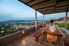 Luxury Villa with helipad at Chania Crete 14