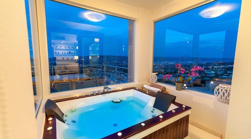 Luxury Villa with helipad at Chania Crete 16