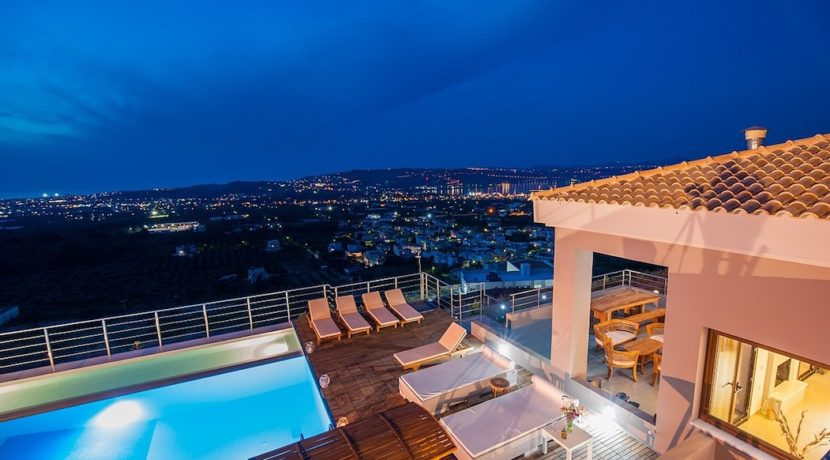 Luxury Villa with helipad at Chania Crete 18