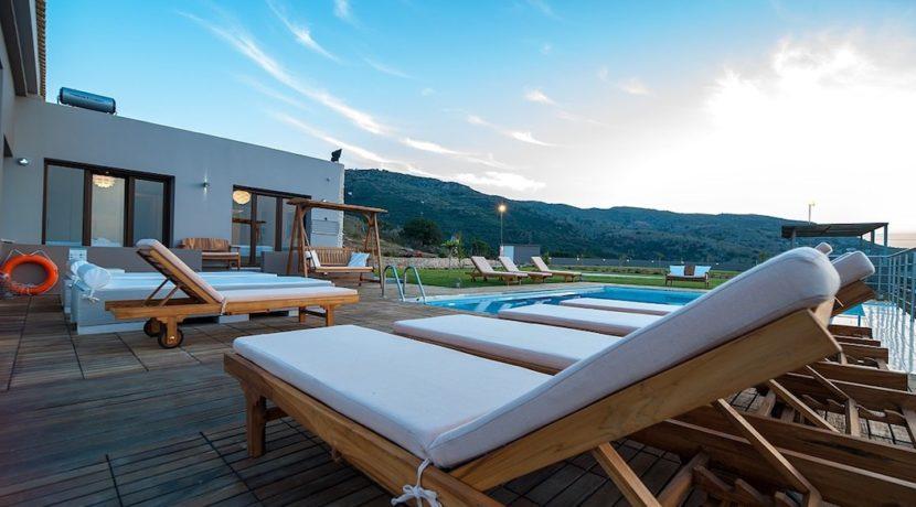 Luxury Villa with helipad at Chania Crete 19