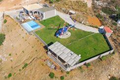 Luxury Villa with helipad at Chania Crete 2