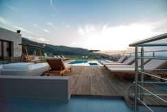 Luxury Villa with helipad at Chania Crete 20