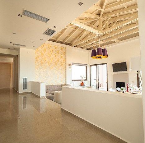 Luxury Villa with helipad at Chania Crete 30