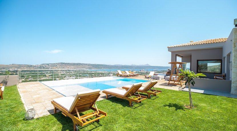 Luxury Villa with helipad at Chania Crete 33