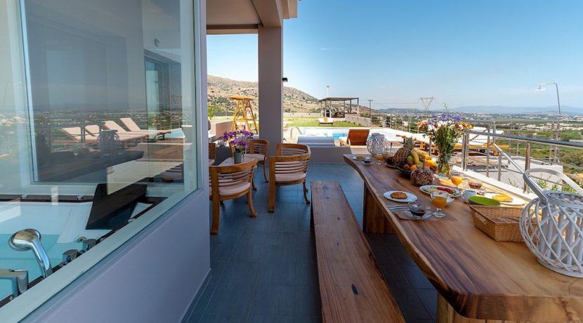 Luxury Villa with helipad at Chania Crete 34