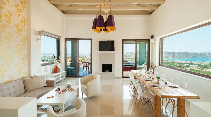 Luxury Villa with helipad at Chania Crete 41