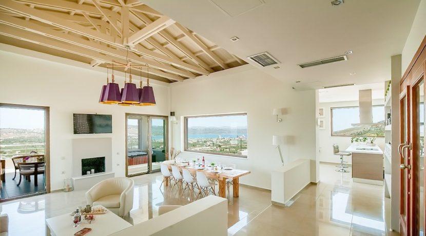 Luxury Villa with helipad at Chania Crete 42