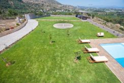 Luxury Villa with helipad at Chania Crete 44