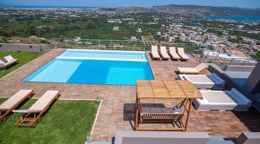 Luxury Villa with helipad at Chania Crete 46