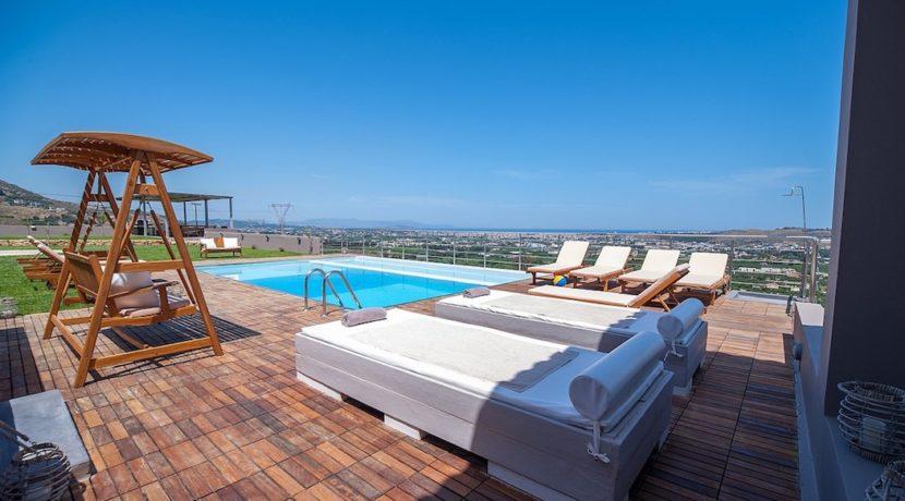 Luxury Villa with helipad at Chania Crete 47