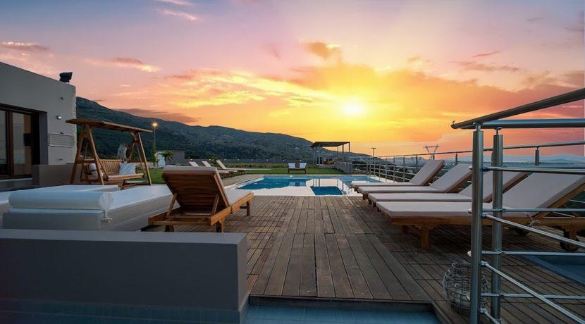 Luxury Villa with helipad at Chania Crete 48
