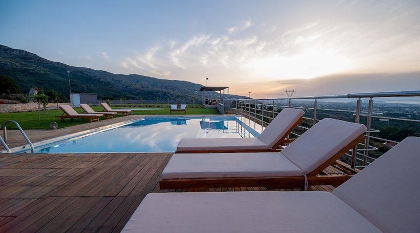 Luxury Villa with helipad at Chania Crete 9