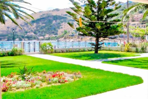 Seafront Villa at Corfu for sale