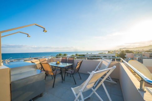 Seafront Villa with Roof Top Pool at Chania Crete for Sale, Villa with pool Crete, Property for sale in Crete, Greece property for sale by the beach 31