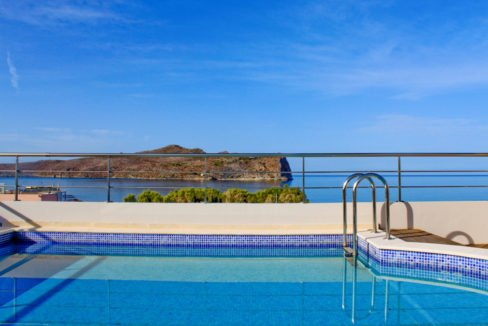 Seafront Villa with Roof Top Pool at Chania Crete for Sale, Villa with pool Crete, Property for sale in Crete, Greece property for sale by the beach 32