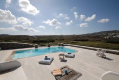 Villa in Ftelia Mykonos with 3 BDR 1