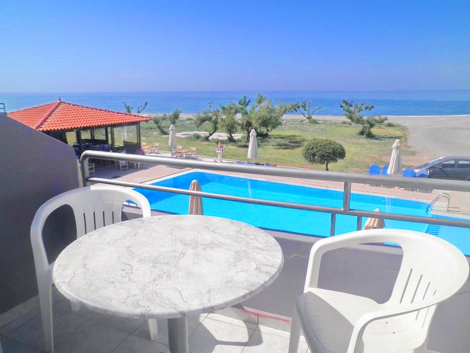 Beach Front Hotel For Sale Crete
