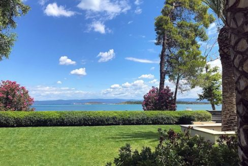 Beachfront Villa Greece Sithonia Halkidiki