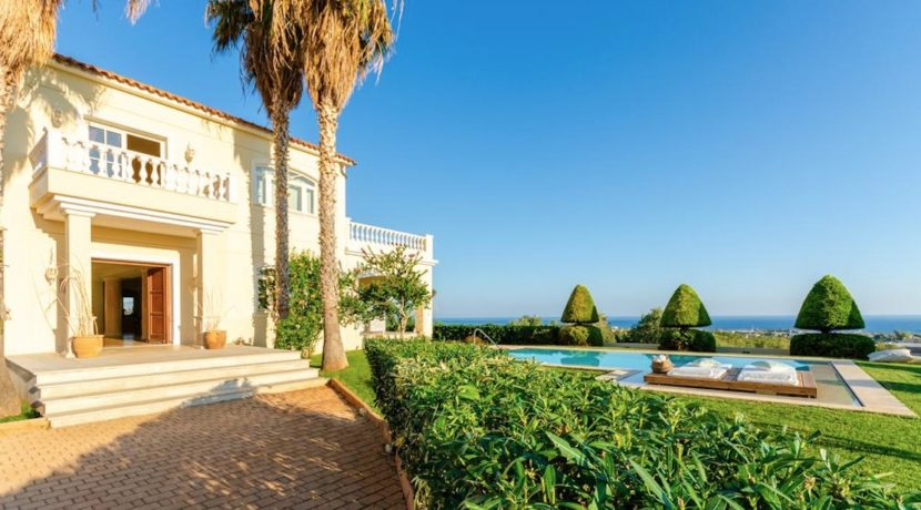 Elegant villa at Malia Crete 2