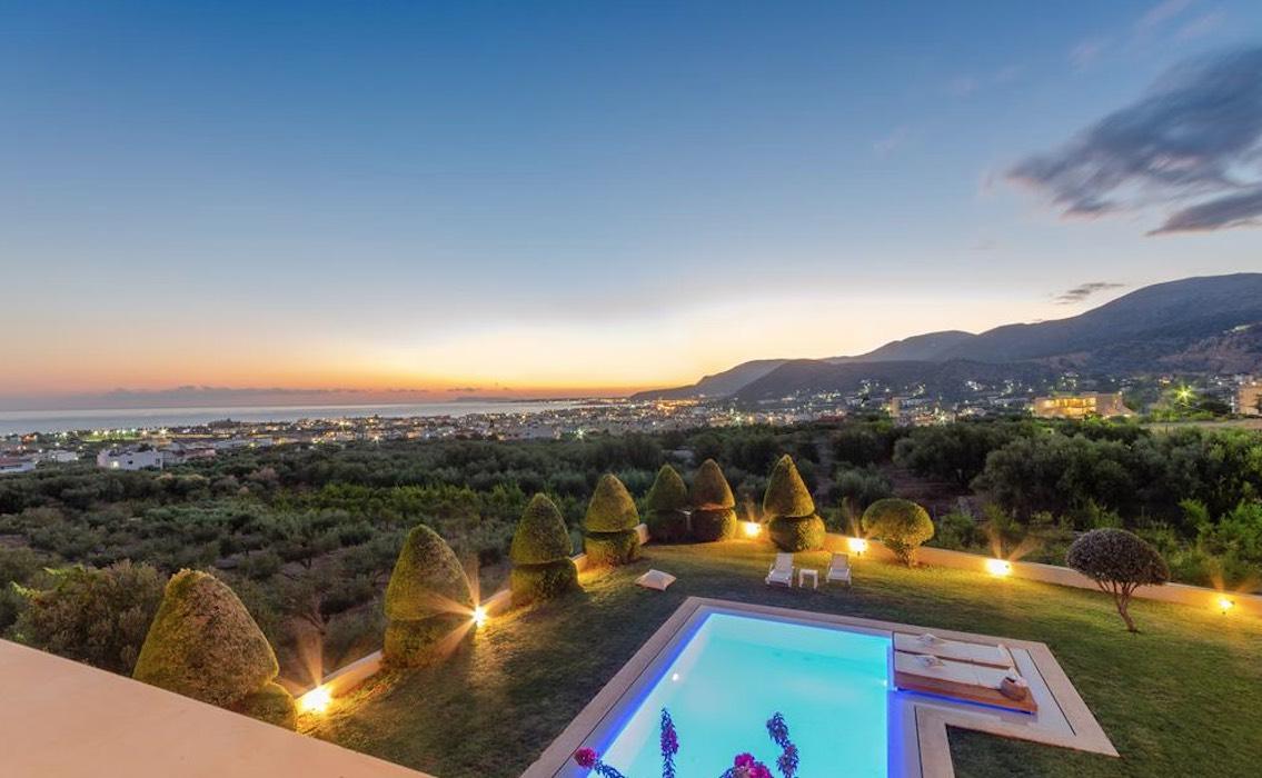 Elegant villa at Malia Crete