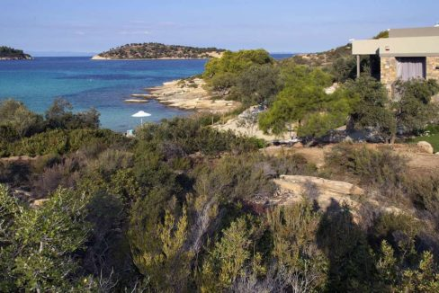 Excellent Seafront Villa at Sithonia 1