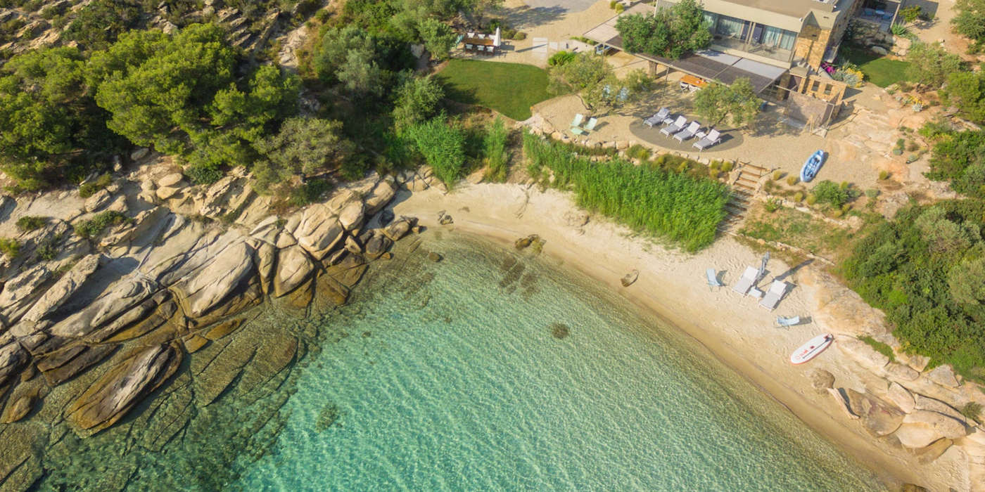 Excellent Seafront Villa at Sithonia