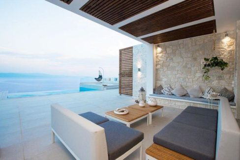 Kassandra Luxury beachfront villa 1