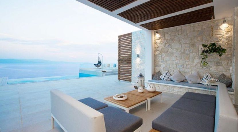 Kassandra Luxury beachfront villa 25