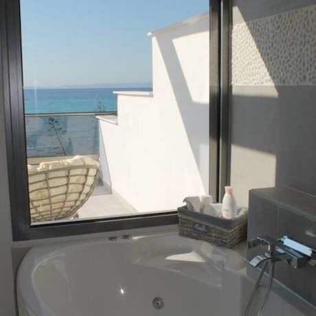 Kassandra Luxury beachfront villa at Chanioti 5
