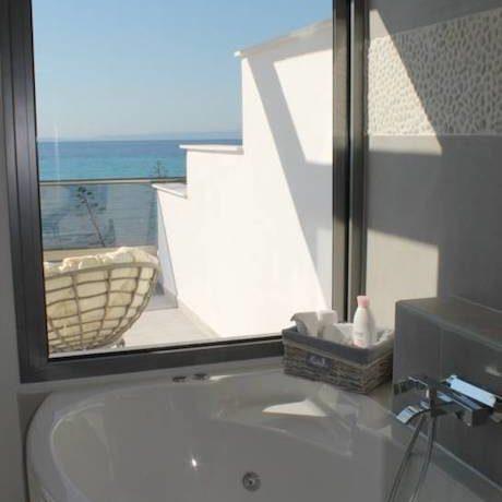 Kassandra Luxury beachfront villa at Chanioti 5
