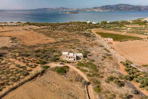 Land near the sea for Hotel in Paros Greece