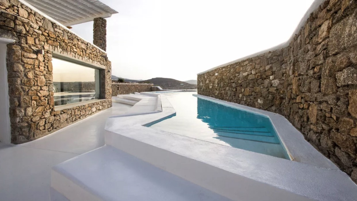 Luxury estate for sale Mykonos, Ftelia