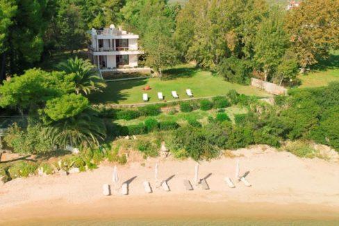 Seafront Property At Nikiti Halkidiki, Top Villas, Real Estate Greece