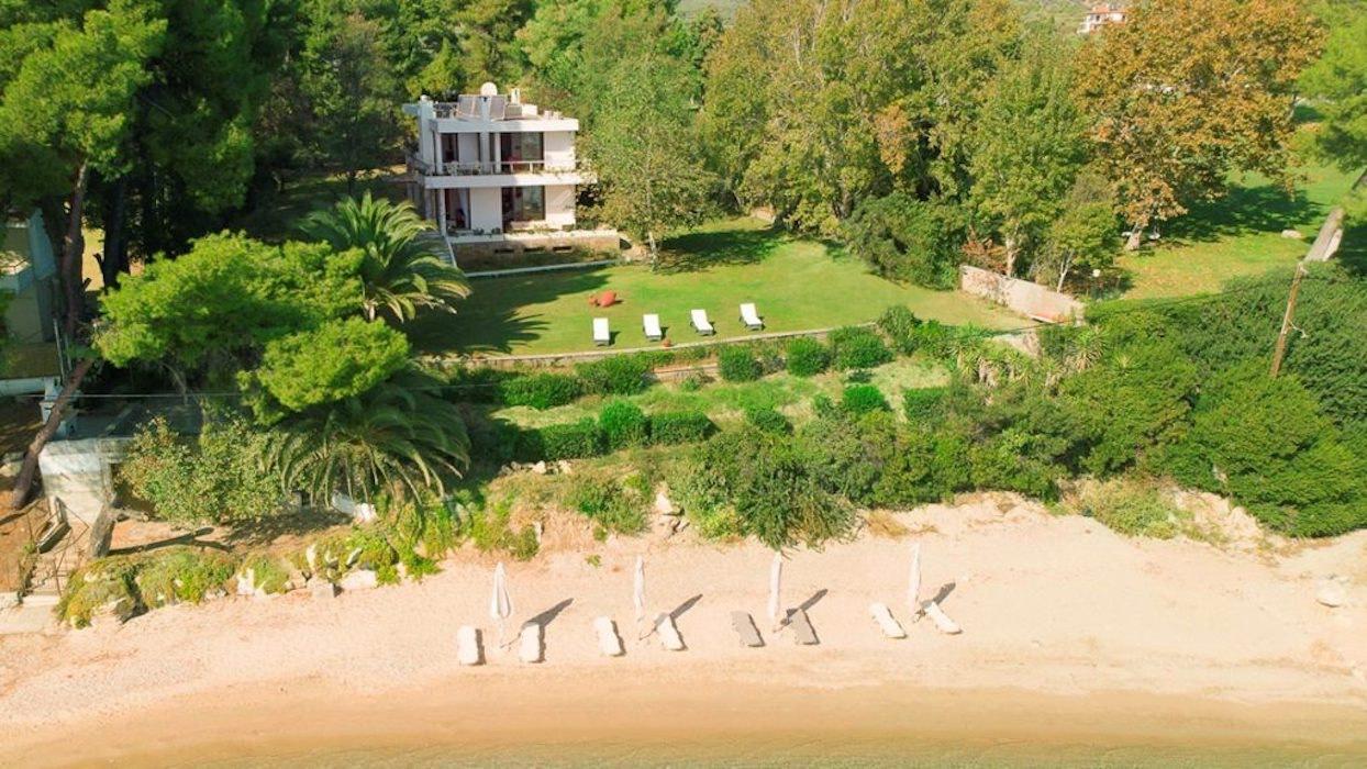 Seafront Property at Nikiti Halkidiki in 12.000 sqm of land!