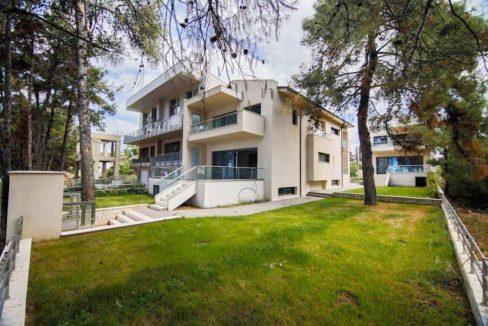 Sithonia Luxury beachfront villa 11