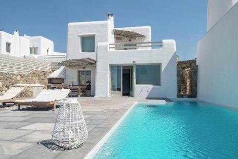 Spacious Sea View Villa in Kalafatis Mykonos 15