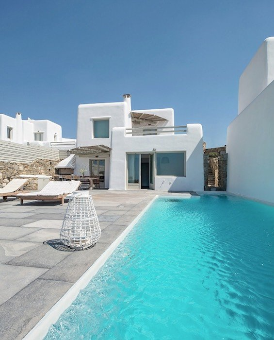 Spacious Sea View Villa in Kalafatis Mykonos